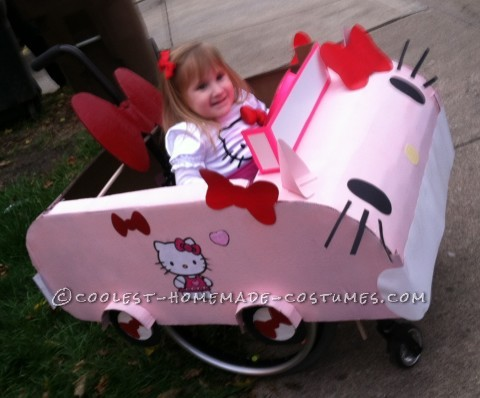 Hello Kitty Wheelchair Costume