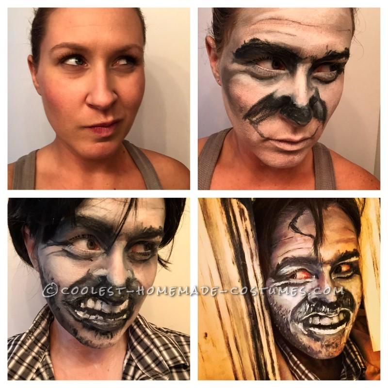 Process Women to Painted Jack Nicholson