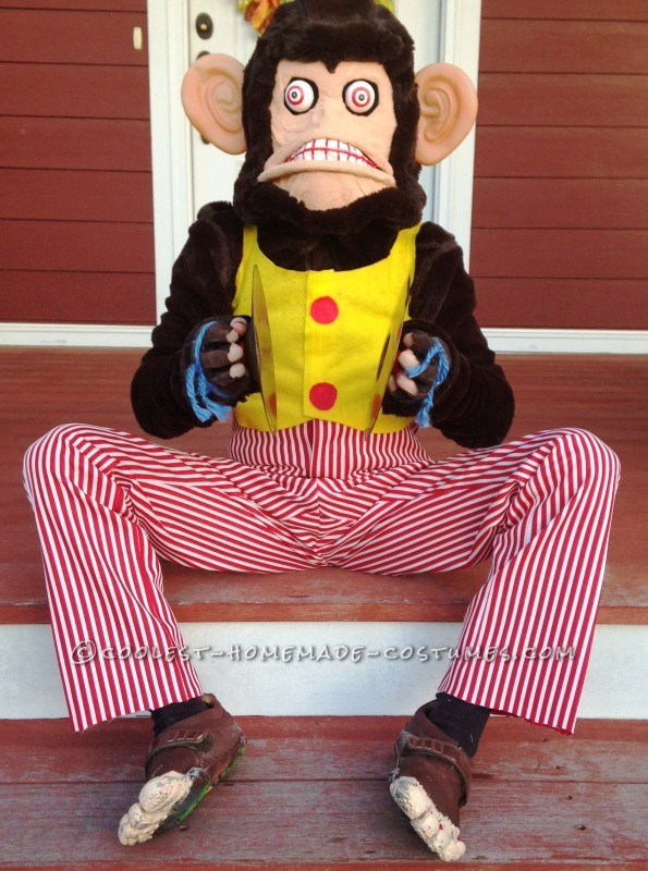 Coolest Homemade Monkey Group Costume - 4