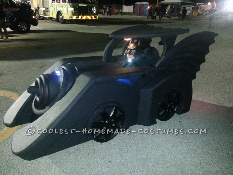 Holy Batman Its the Wheelchair Batmobile
