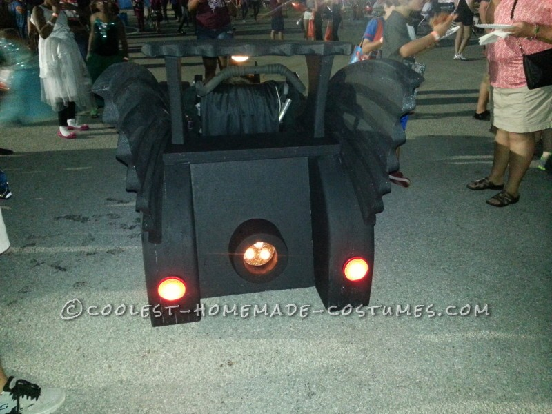 Holy Batman! Its the Batmobile Wheelchair Costume - 2