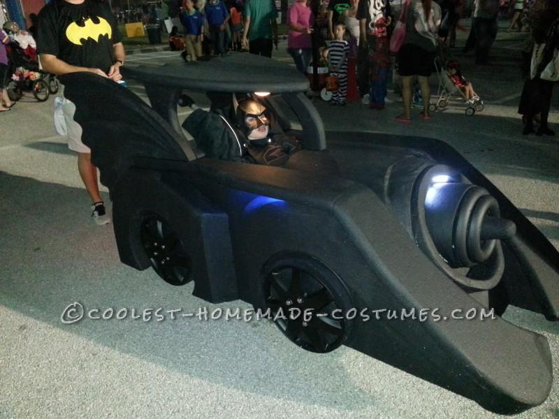 Holy Batman! Its the Batmobile Wheelchair Costume - 4