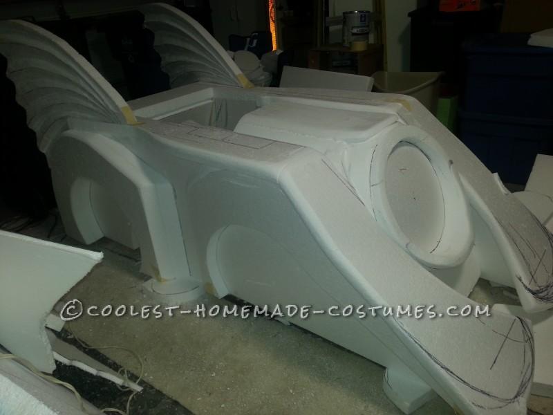Holy Batman! Its the Batmobile Wheelchair Costume - 6