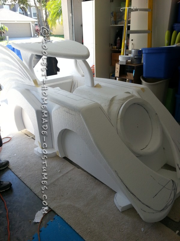 Holy Batman! Its the Batmobile Wheelchair Costume - 7
