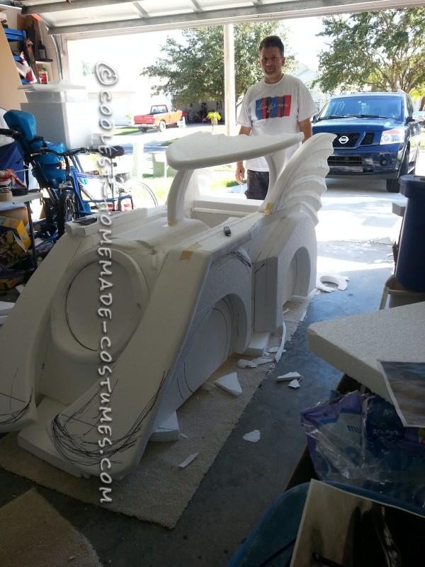Holy Batman! Its the Batmobile Wheelchair Costume - 8