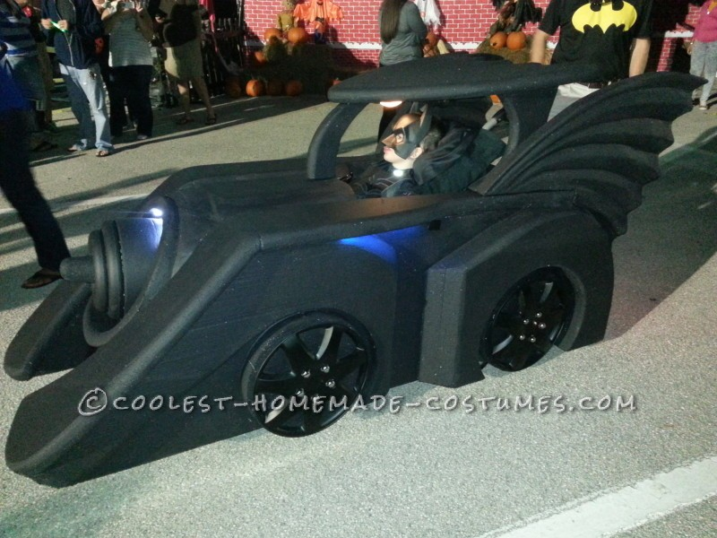 Holy Batman! Its the Batmobile Wheelchair Costume - 1