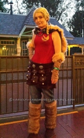 Homemade How to Train Your Dragon Astrid Costume