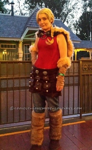 Me as Astrid at Disneyland's Halloween party!