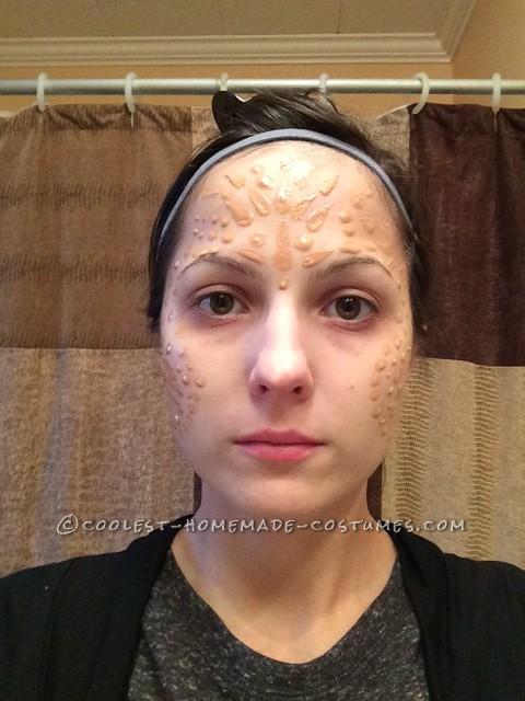 Latex on my face