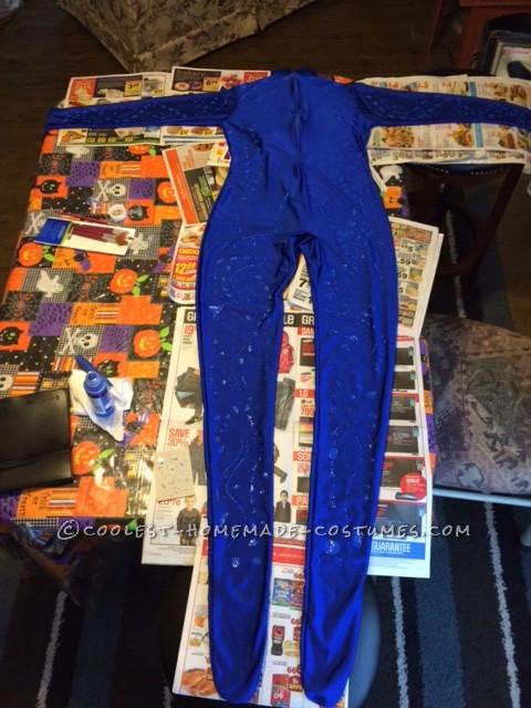 Homemade X-Men Mystique Costume