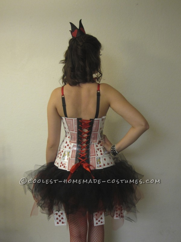 Coolest Homemade Queen of Hearts Costume