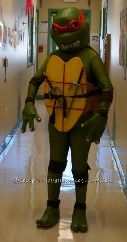 Coolest Homemade Raphael Costume