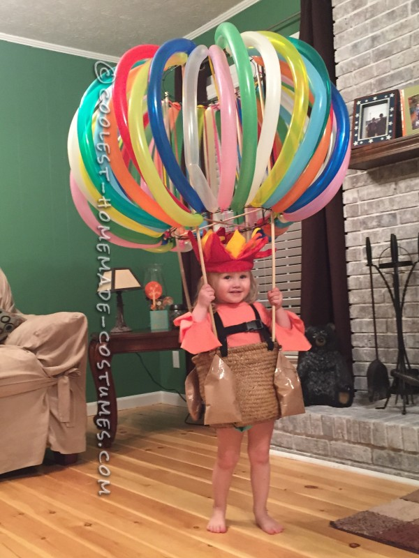 Cool Hot Air Balloon Costume for a Toddler