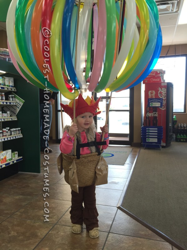 Cool Hot Air Balloon Costume for a Toddler - 1