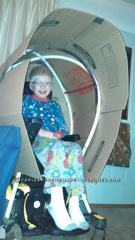 Amazing Rocket Ship Astronaut Wheelchair Costume - 4