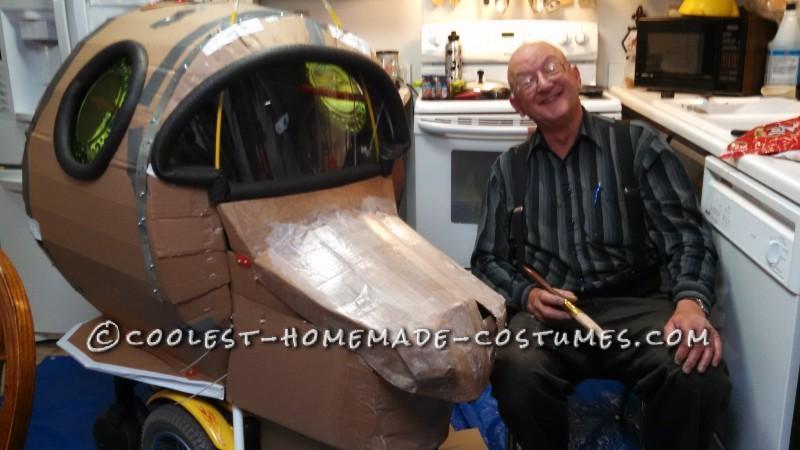 Amazing Rocket Ship Astronaut Wheelchair Costume - 7