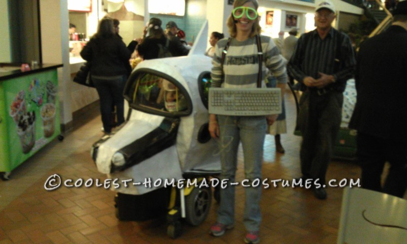 Amazing Rocket Ship Astronaut Wheelchair Costume - 9