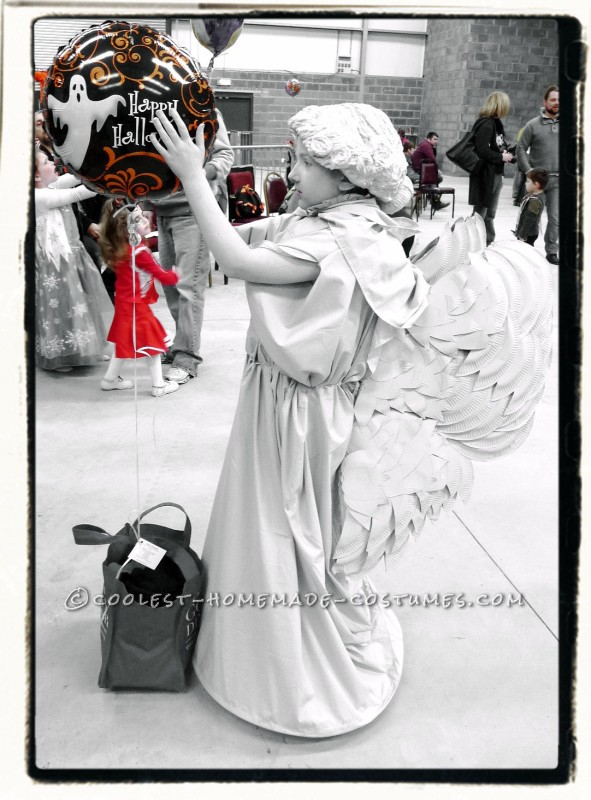 Coolest Homemade Weeping Angel Costume