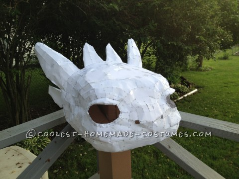 How to Train Your Dragon: Making a Toothless Costume for a 9-year old