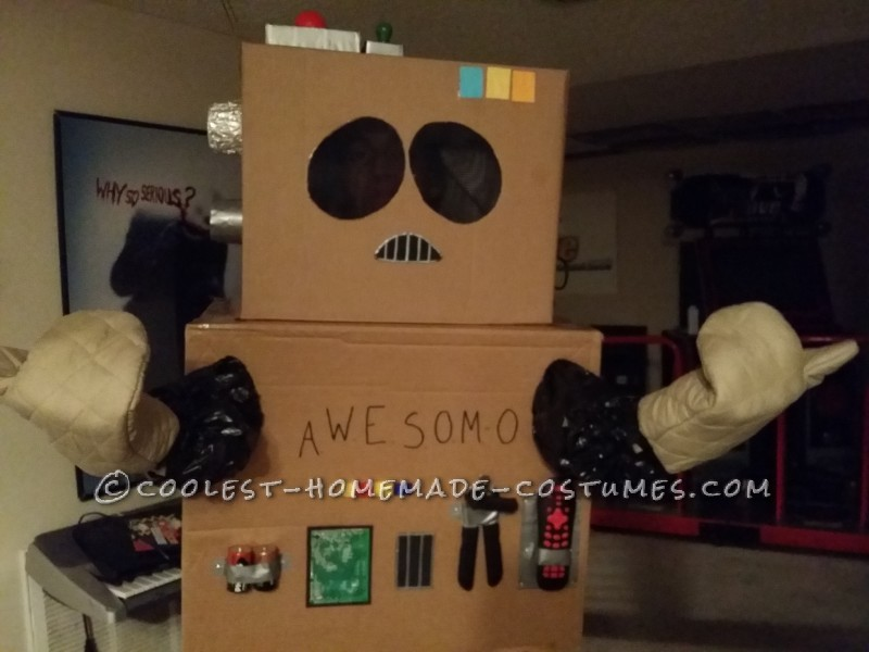 Coolest South Park AWESOM-O Costume - 3