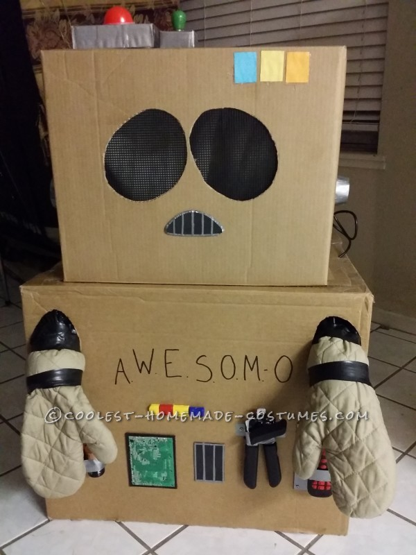 Coolest South Park AWESOM-O Costume - 5