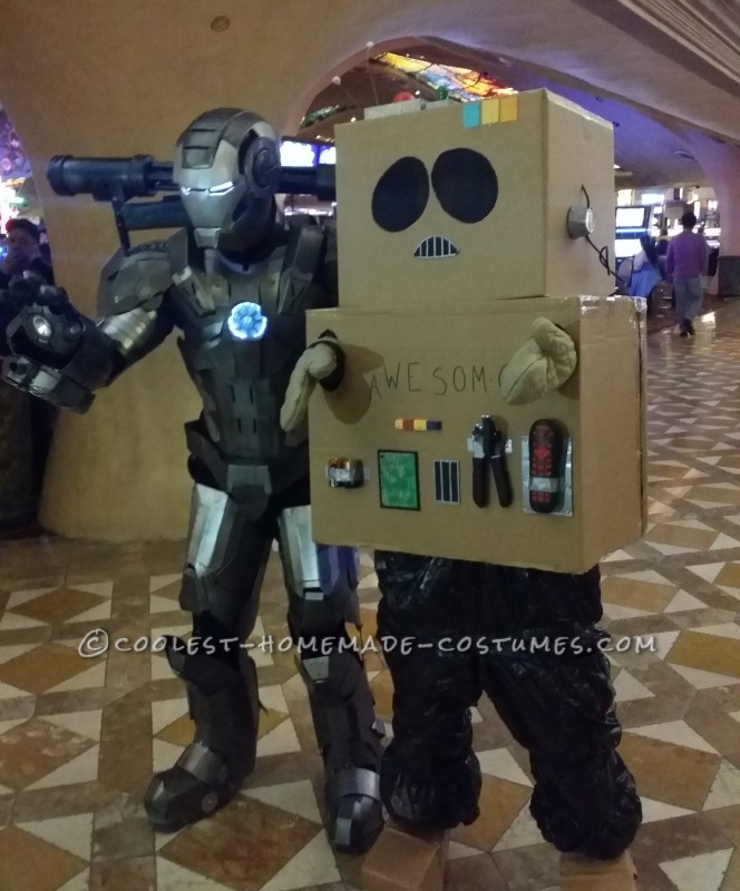 Robot brothers from different mothers! Lol
