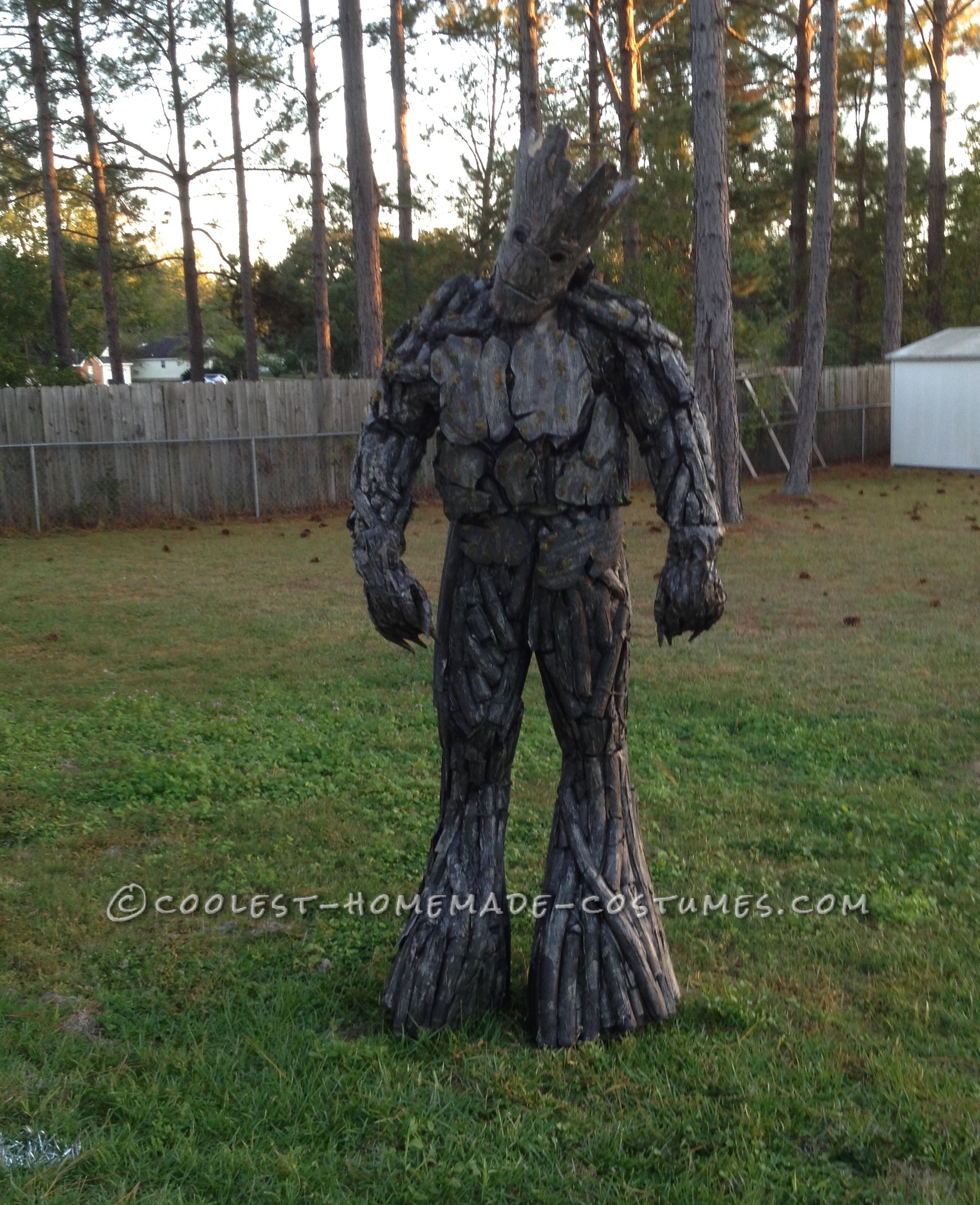 One of a Kind Homemade Groot Costume