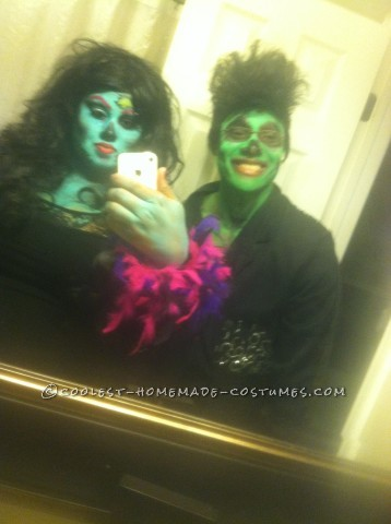 Got Tons of Soul Zombie Couple Costumes