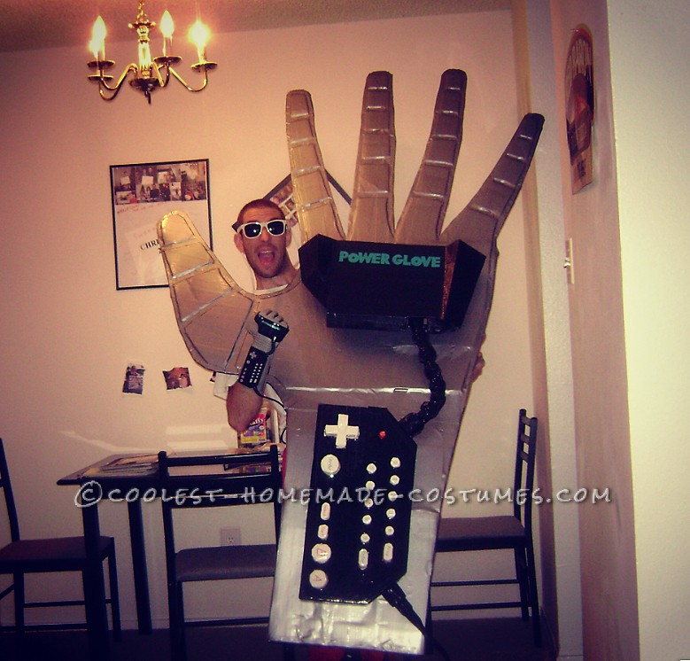 The Baddest and Coolest Power Glove Costume
