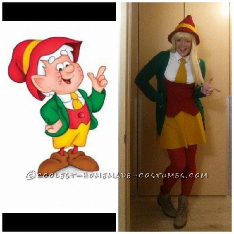 Original Last Minute Ernie Keebler Costume for a Woman
