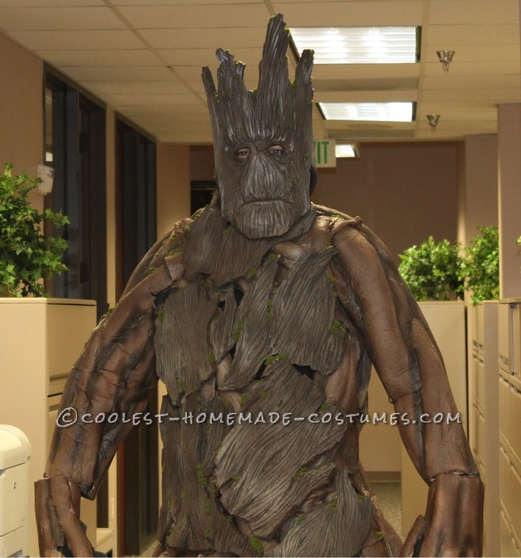 Amazing Homemade Groot Costume