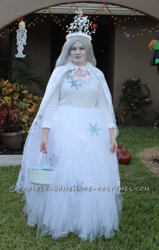 Coolest Illuminated Snow Queen Costume