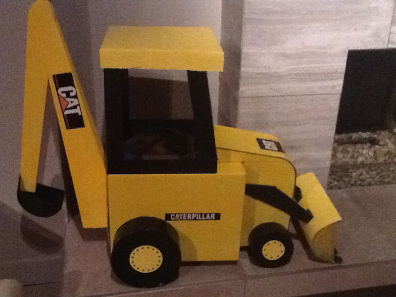 Cool Backhoe Halloween Costume - 1
