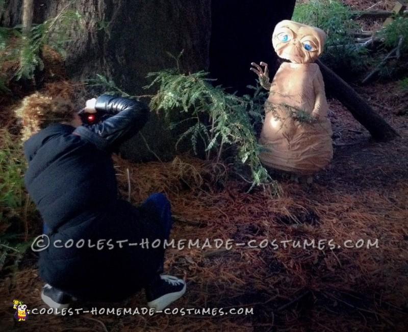 Realistic Homemade E.T. Costume