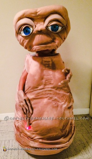 Realistic Homemade E.T. Costume