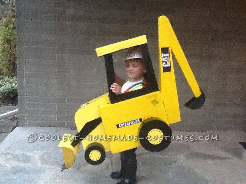 Cool Backhoe Halloween Costume - 3