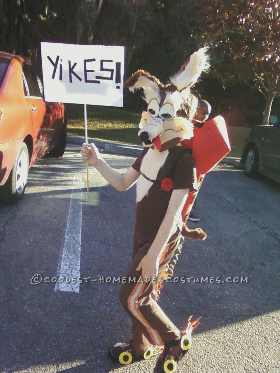 Super Genius Wile E Coyote Costume