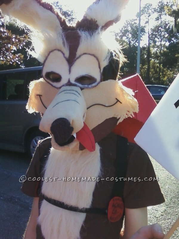 Super Genius Wile E. Coyote Costume - 2