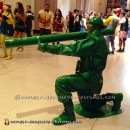 Instant Green Army Man Costume