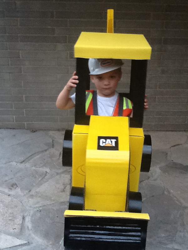 Cool Backhoe Halloween Costume - 2