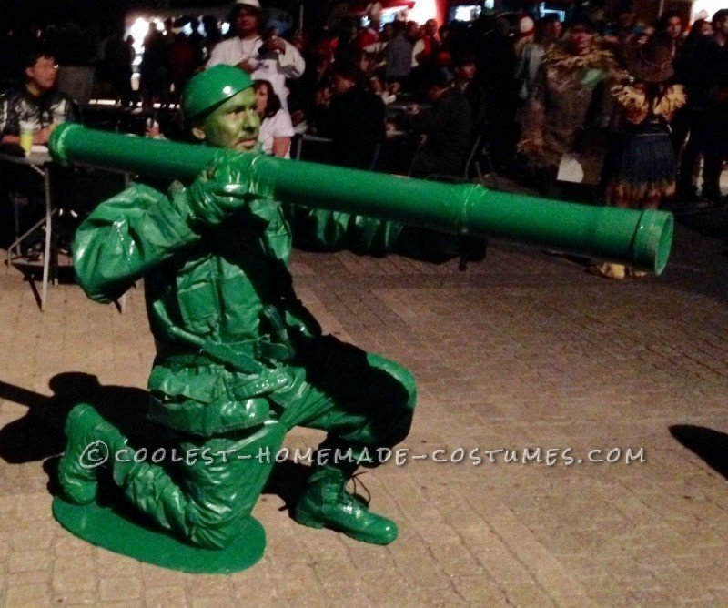 Army Man Soldier Costume