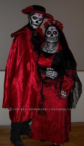 Incredible Dia De Los Muertos (Day of the Dead) Couples Costume - 3