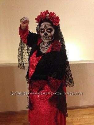 Incredible Dia De Los Muertos (Day of the Dead) Couples Costume - 1