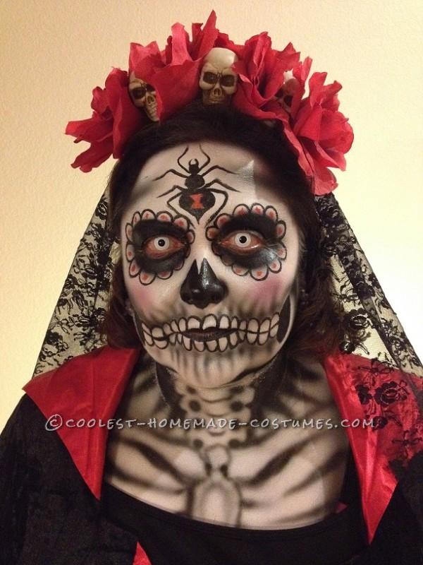 Incredible Dia De Los Muertos (Day of the Dead) Couples Costume - 2