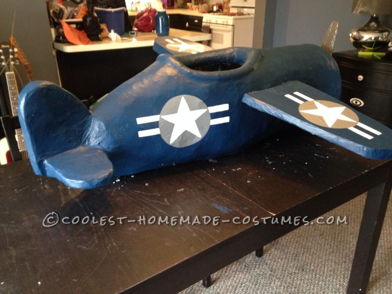 Incredible WWII Fighter Pilot Costume for a Child