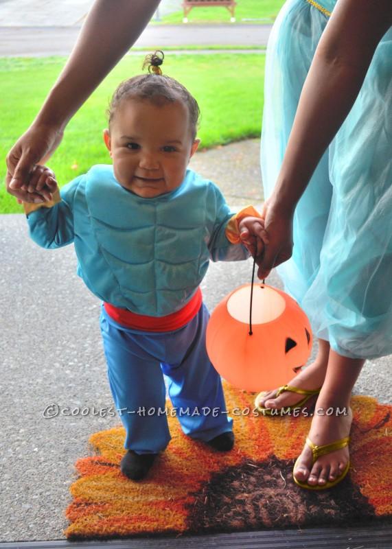 Trick or Treat its baby Cortez as Genie from Aladdin