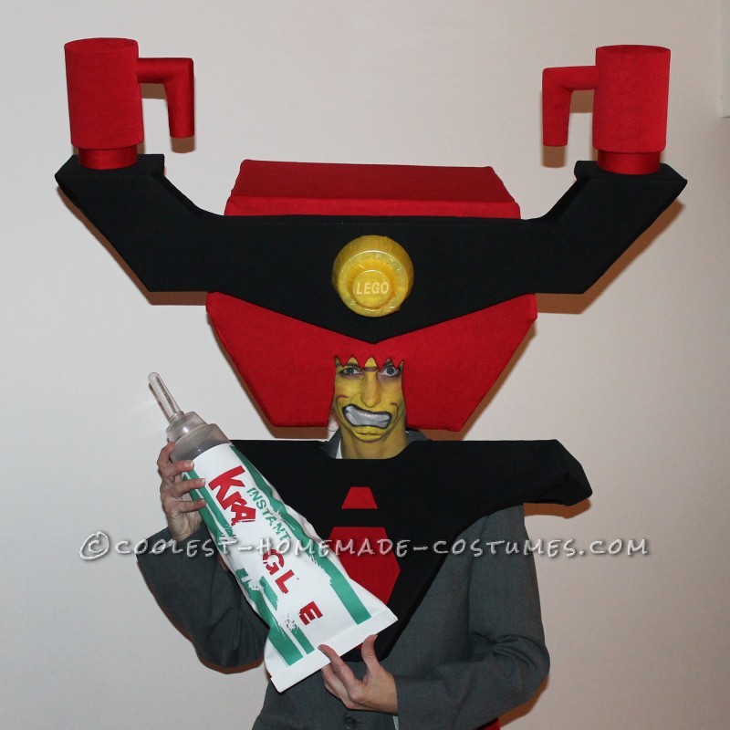 Inexpensive, Awesome Lord Business Homemade Halloween Costume