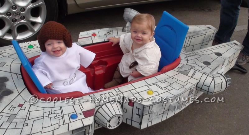 Infant Boy-Girl Twins Millennium Flyer Halloween Costume - 1