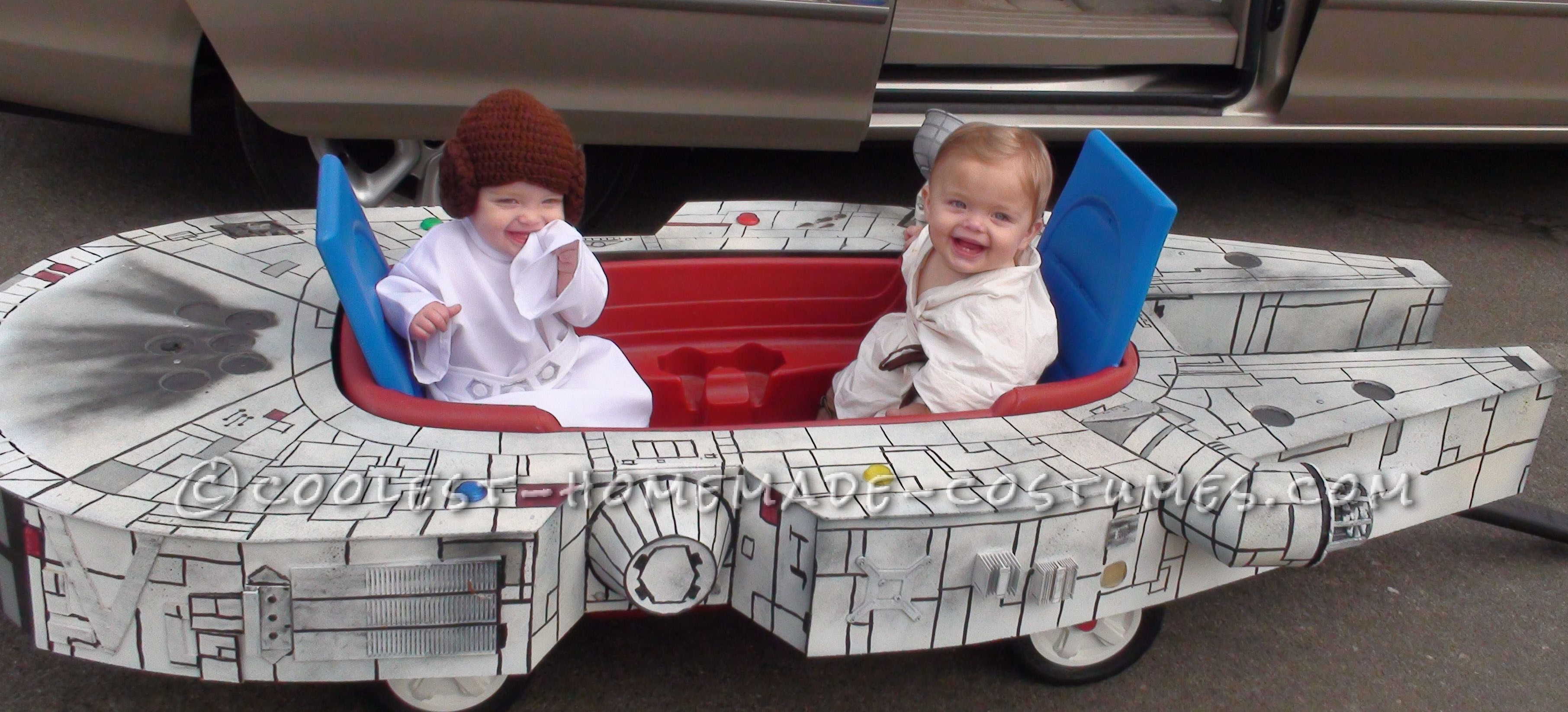 Infant Boy-Girl Twins Millennium Flyer Halloween Costume