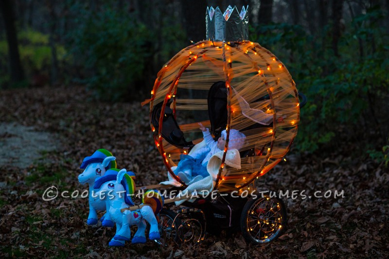 Infant Cinderella and Pumpkin Carriage
